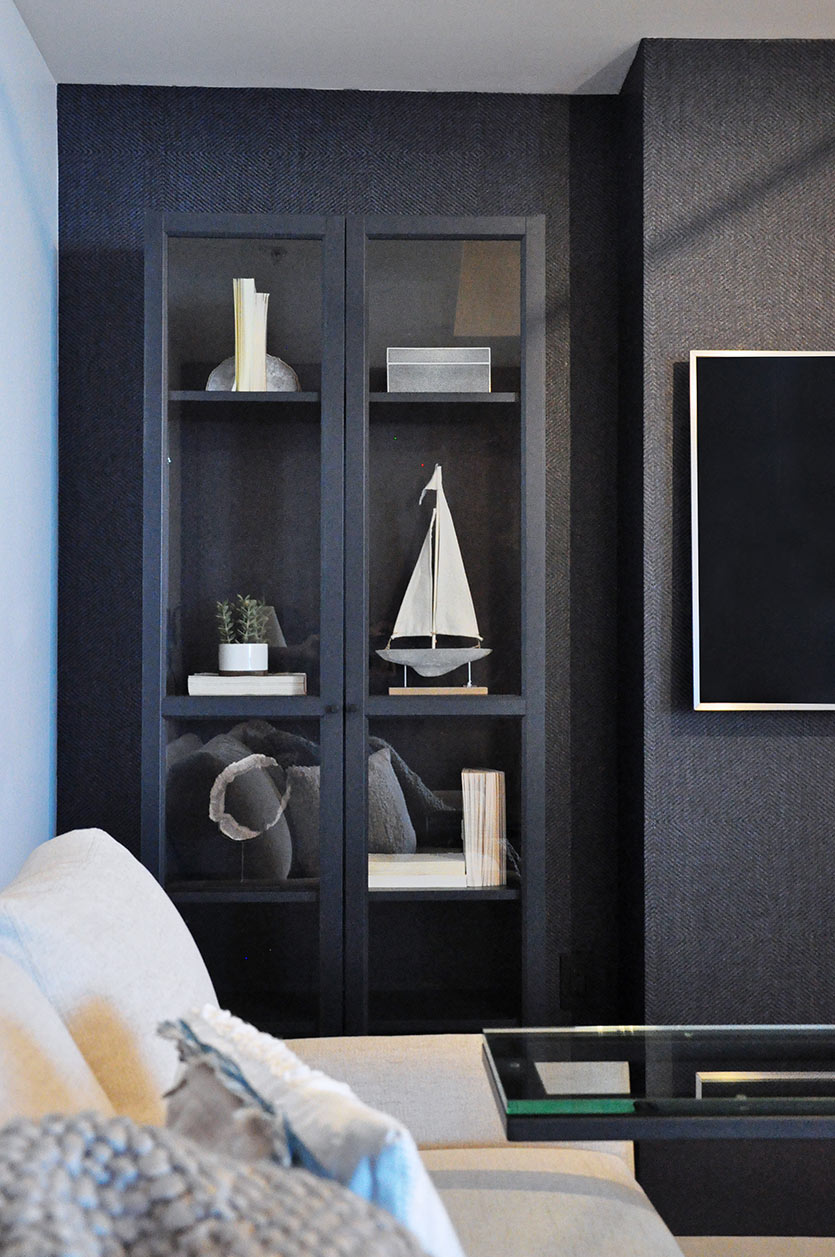 A Cozy Den Design by Miami Interior Designers