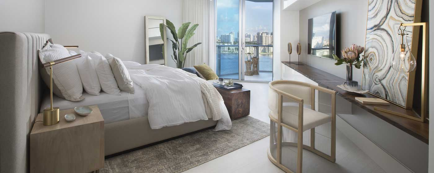 Residential Interior Design - Miami Coastal Modern Condo