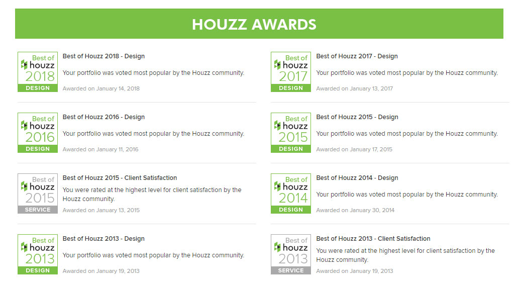 Best of Houzz 2018: DKOR Voted Most Popular for the 6th Year