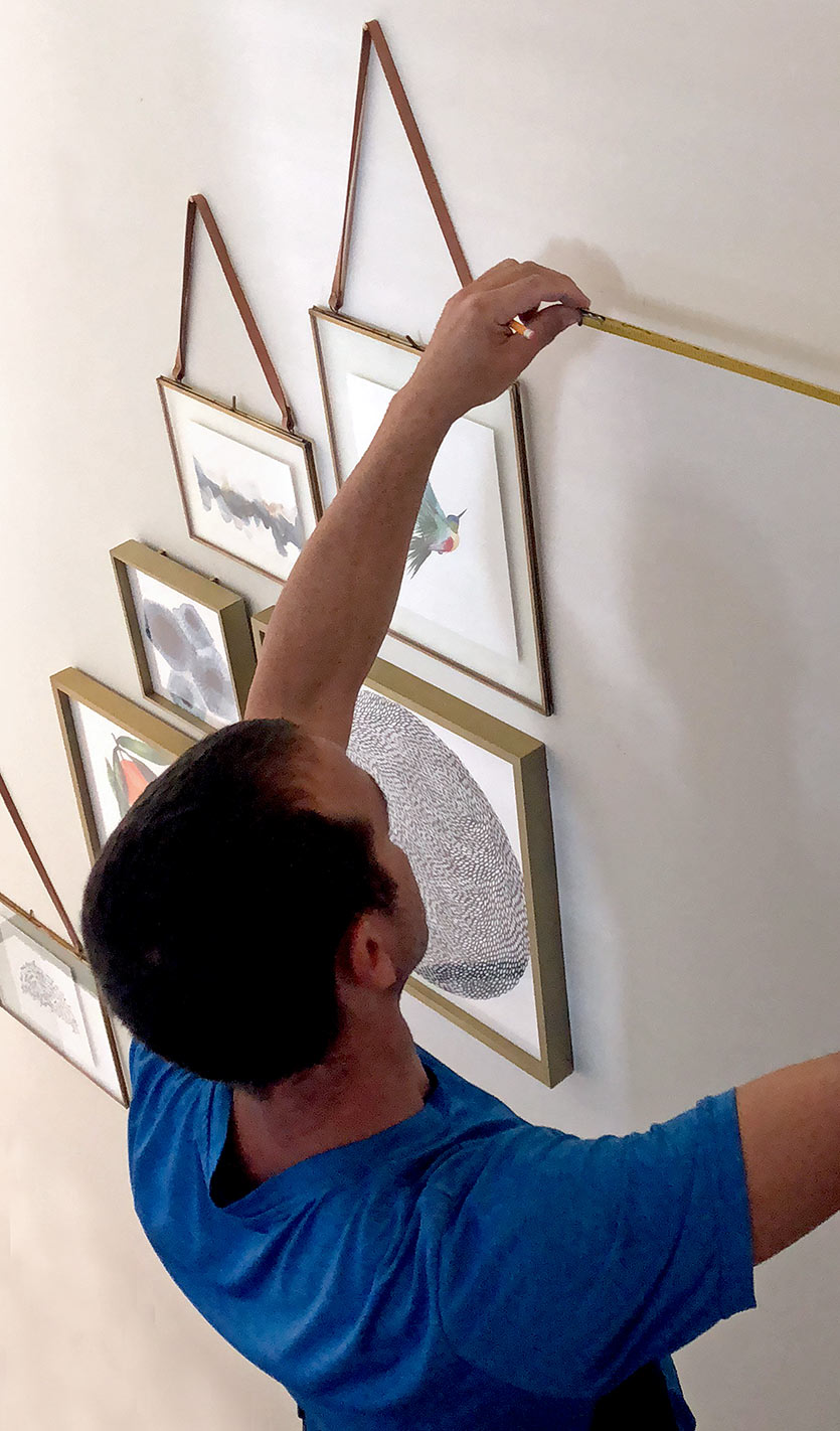 How We Decorated the Walls in Our Miami Design Project