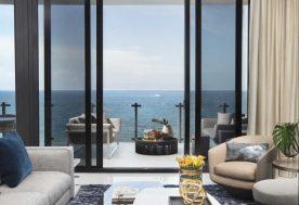 Residential Interior Design - Living Room Balcony