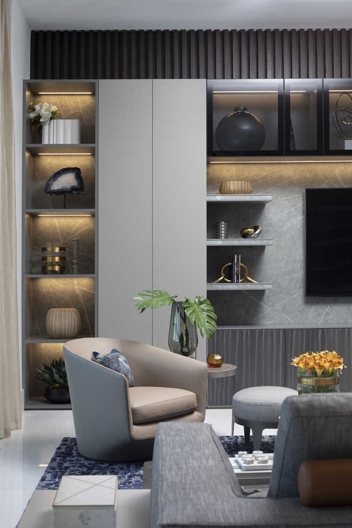 Luxe Waterfront Condo Residential Interior Design From
