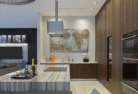 Luxe Waterfront Breakfast Kitchen
