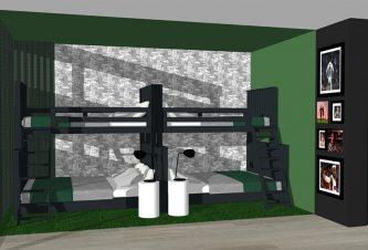 Bedroom Design Bal Harbour Home
