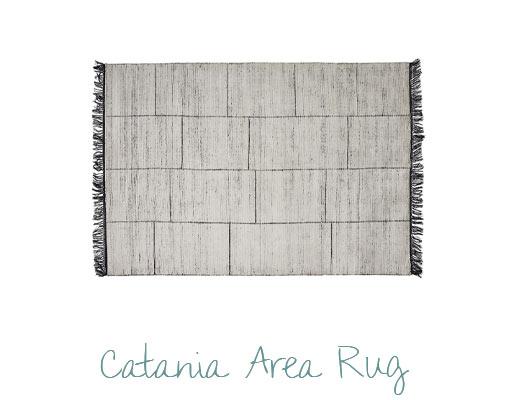 Stylish Room Design by Miami Interior Designers - Catania Area Rug