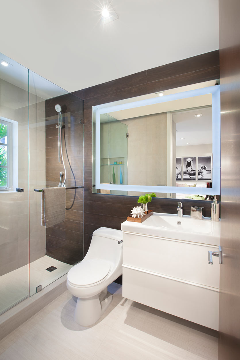 Secondary Bathroom Design