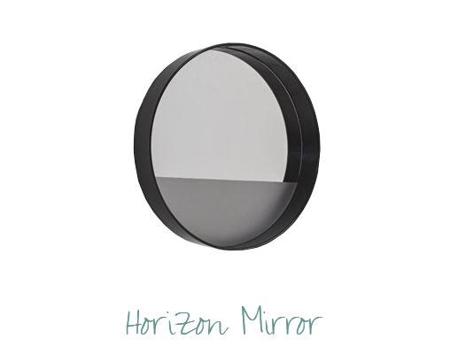 Stylish Room Design by Miami Interior Designers - Horizon Mirror