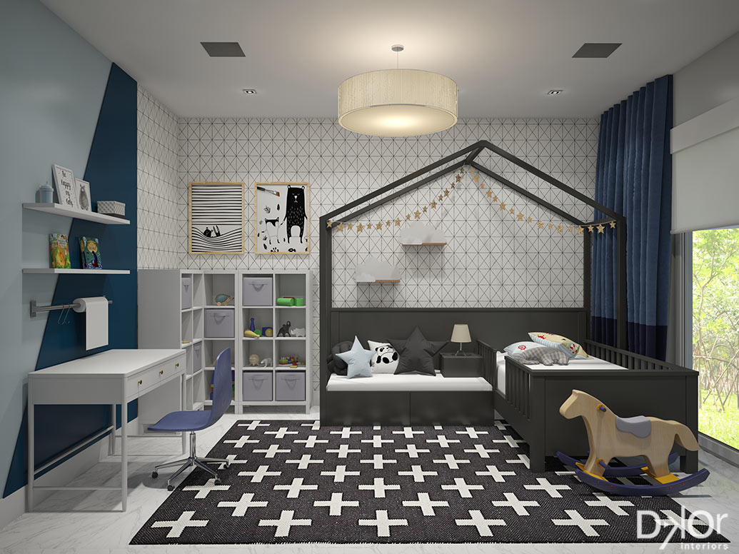Modern Kids' Rooms by DKOR Interiors
