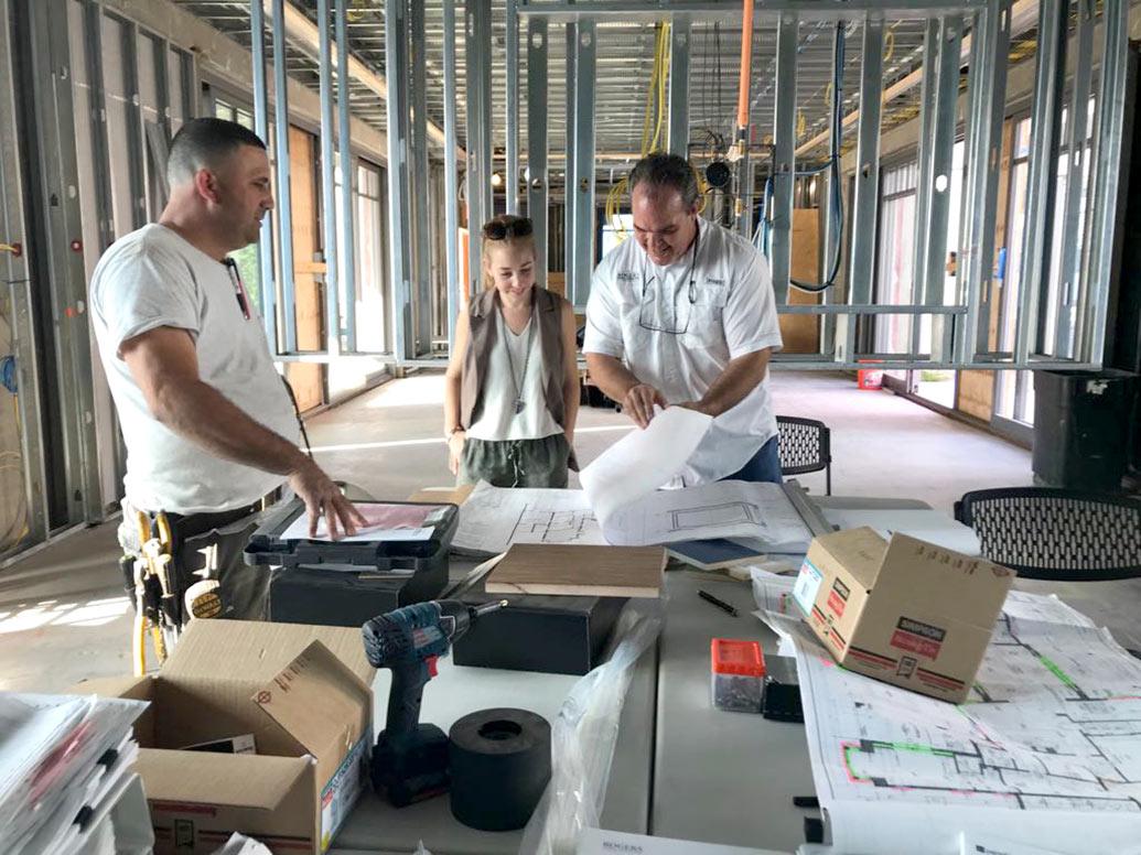 Palm Beach Design Project - Site Visit