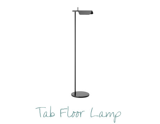 Stylish Room Design by Miami Interior Designers - Tab Floor Lamp