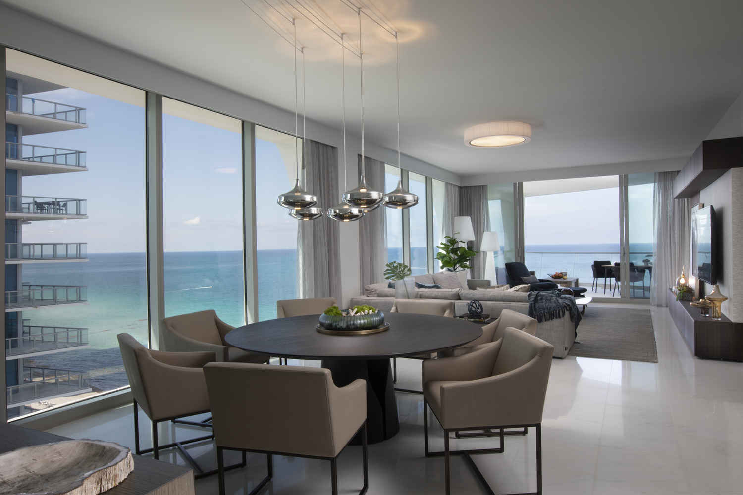 residential interior design portfolio by miami interior design firm