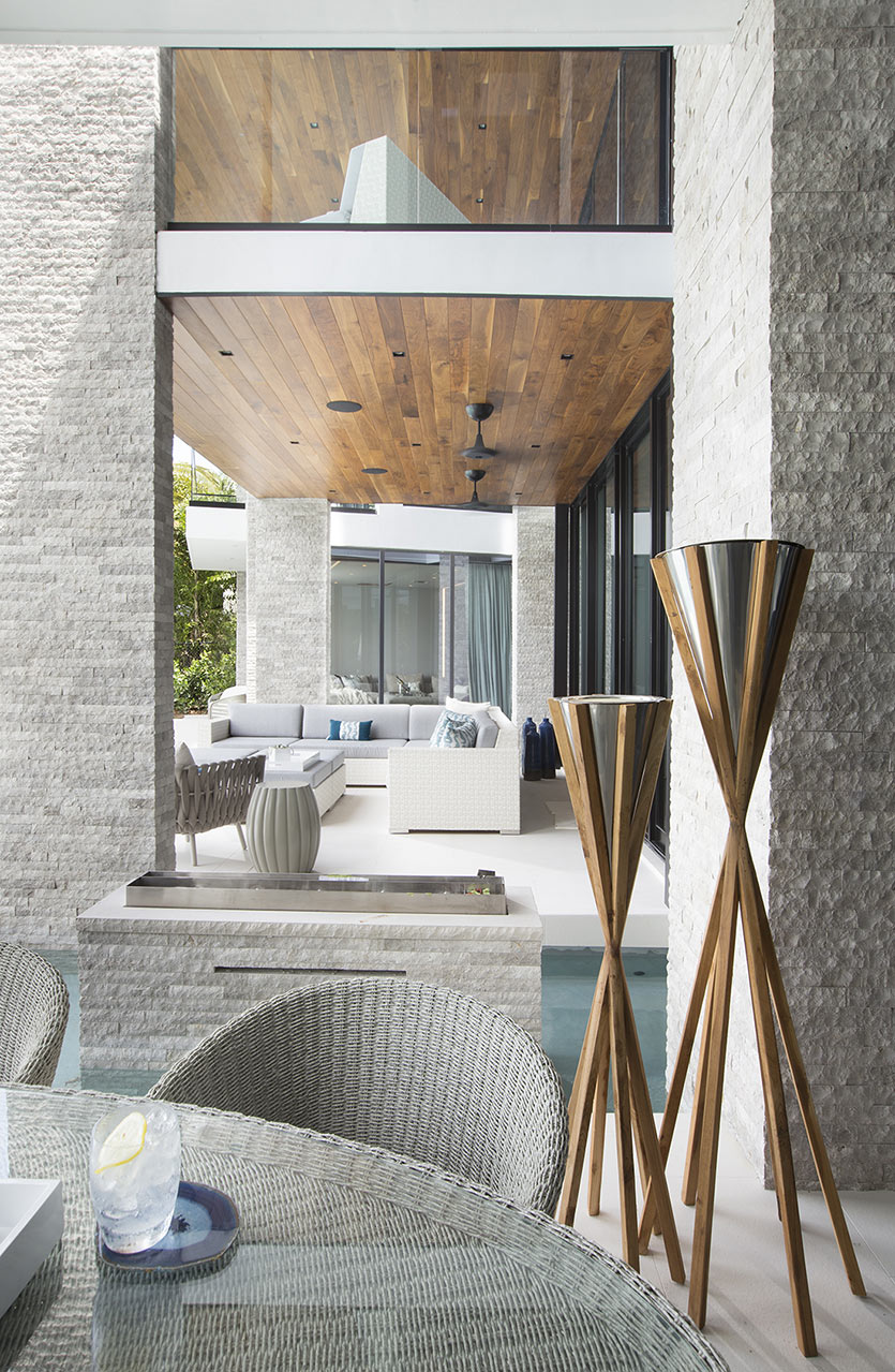 DKOR Interiors Watefront Residence - Outdoor Living Spaces