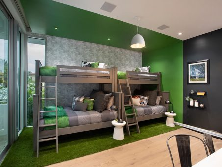 Sports Themed Bedroom By DKOR Interiors