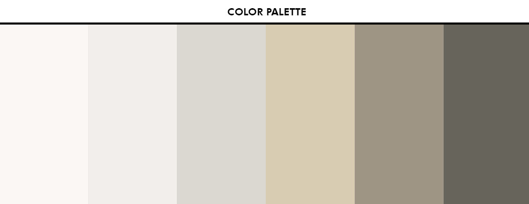 Color Palette - Mid-Century Design