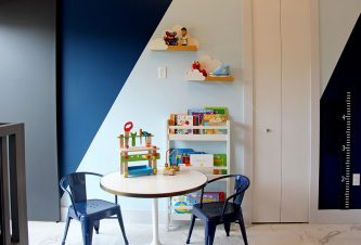 Toddler Bedroom Play Area