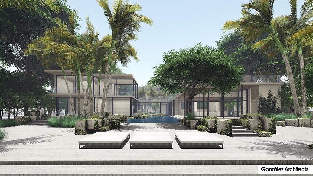 Modern Balinese Interior Design - Delray Beach New Construction Home