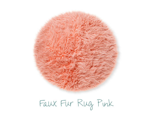 Study Area Rug Pink