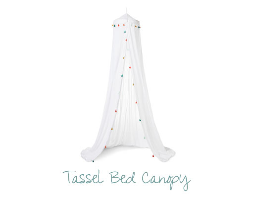 Target Tassel Bed Canopy