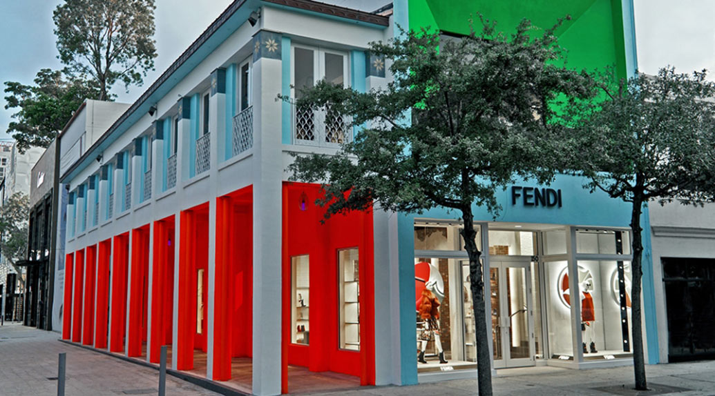 Fashion Shops - Design District in Miami