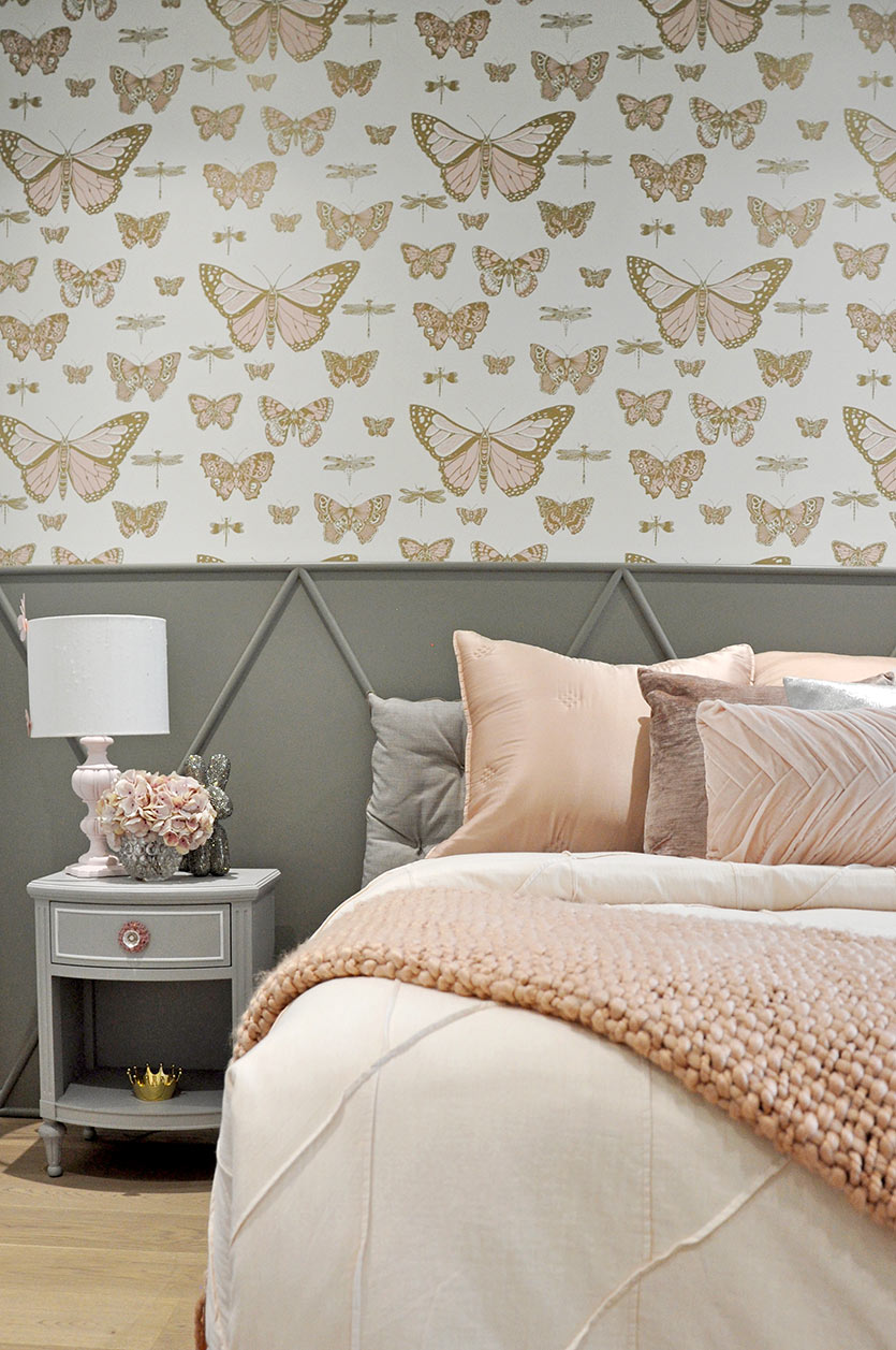 Little girl's bedroom details