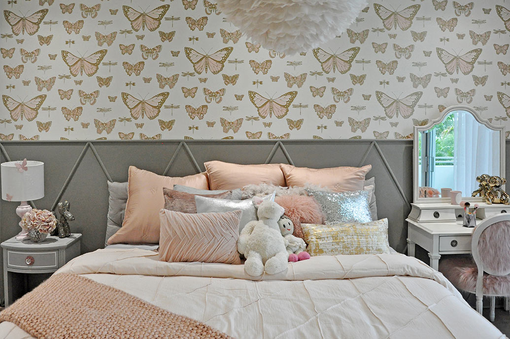 Little girl's bedroom by DKOR Interiors