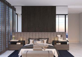 Condo Interior Design - Master Bedroom
