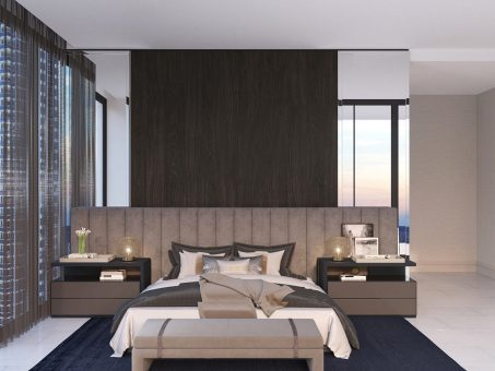Condo Interior Design - Master Bedroom