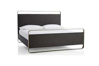 Metal Upholstered Bed