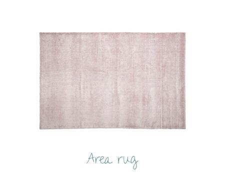 Nursery Decorating Ideas - Pink Area Rug