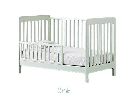 Nursery Decorating Ideas - Crib