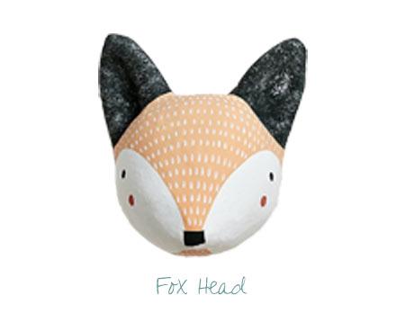 Nursery Decor - Fox Head