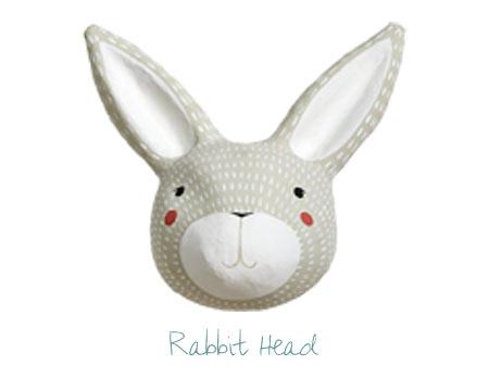Nursery Decor - Rabbit Head