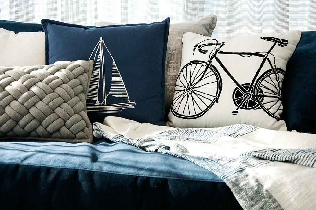 Sunny Isles Condo Design - Decorative Pillows
