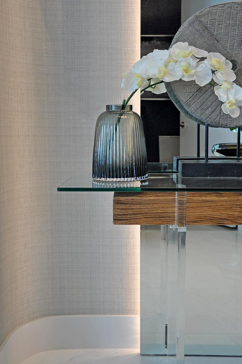 Sunny Isles Condo Design - Foyer Decor