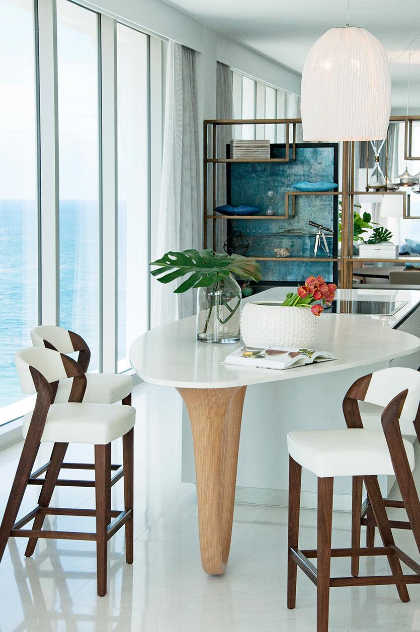 Sunny Isles Condo Design - Kitchen