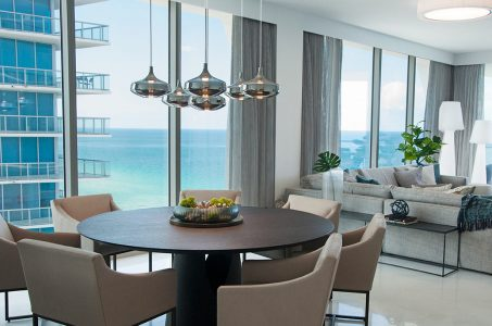 Sunny Isles Condo Design - Living Spaces By DKOR Interiors