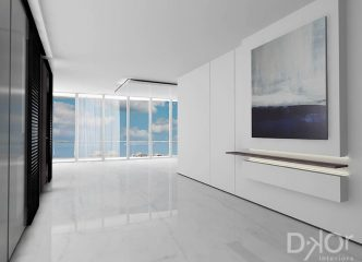 Condo Interior Design - Foyer Design