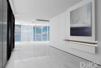 Condo Interior Design - Foyer Design