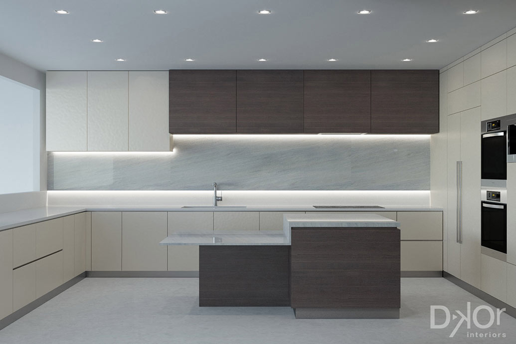 Condo Interior Design - Kitchen Design