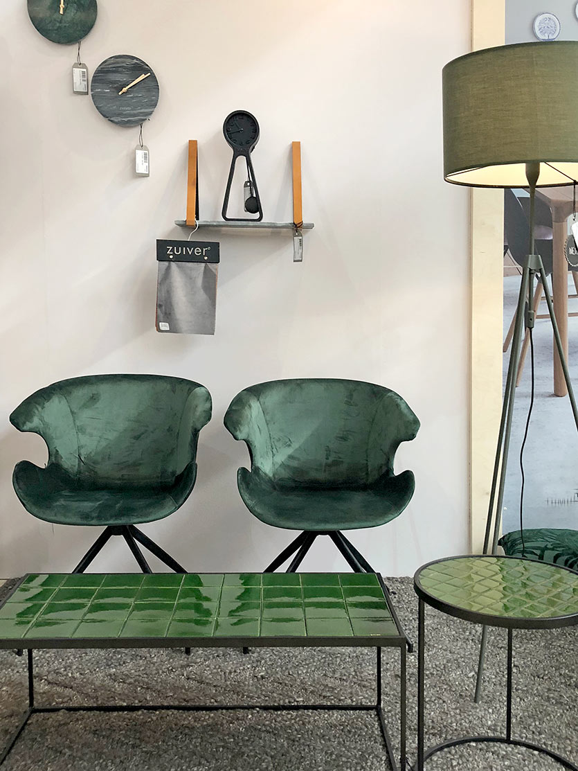 Home Decor Trends - Green Color