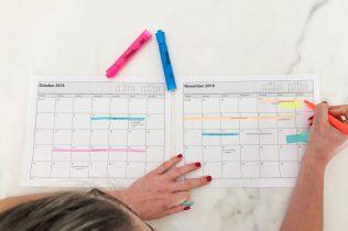 Interior Design Project Management - Scheduling