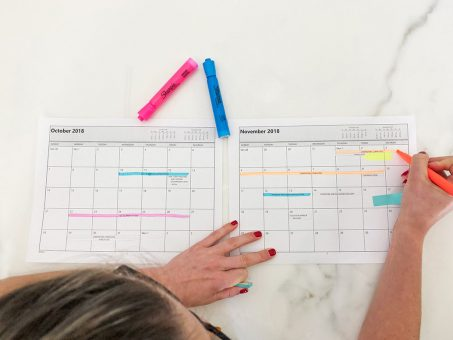 Interior Design Project Management - Scheduling