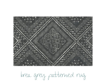 CB2 Dining Room Finds - Grey Rug