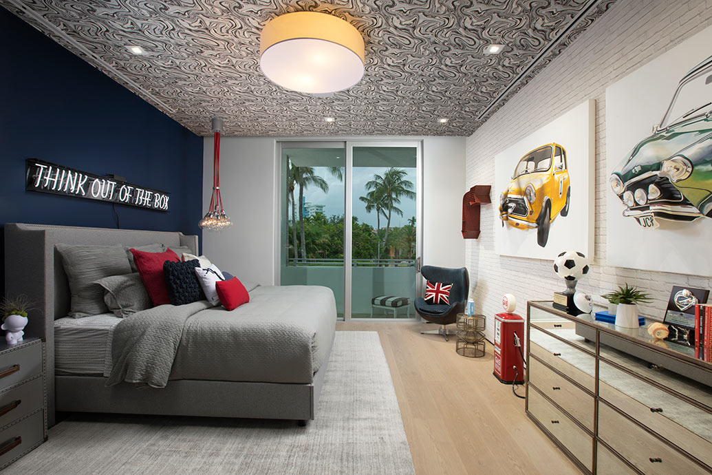 Fun Room Ideas: Modern and Mature Boy's Bedroom Design