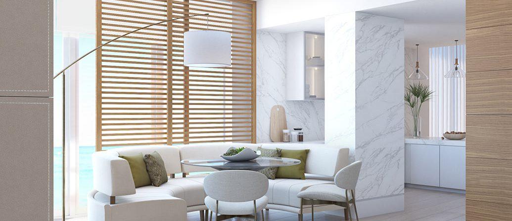 Mid-Century Dining Spaces - Auberge Beach Residences