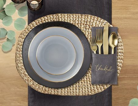 Thanksgiving Table Setting Ideas - Crate And Barrel Selections