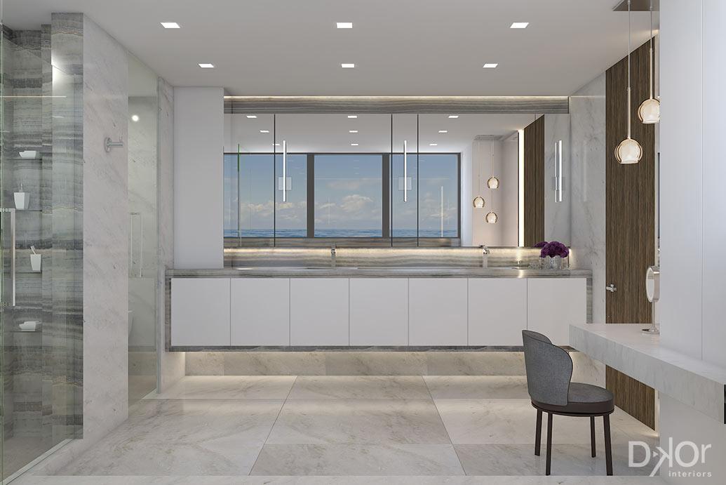 Master Bathroom Design by DKOR Interiors