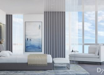 Modern Master Bedroom Design By DKOR Interiors