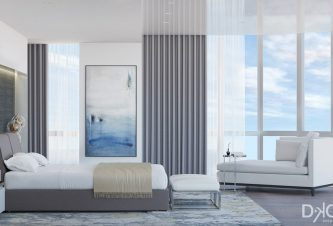 Modern Master Bedroom Design By DKOR Interiors