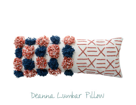 Pantone color of the year home decor - Lumbar Pillow
